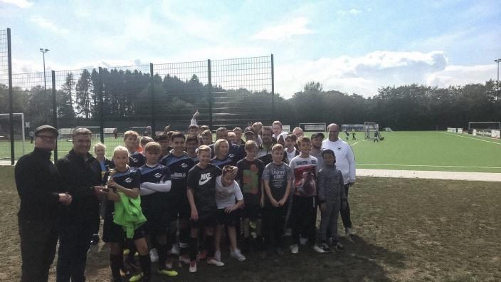 Fußballturnier der JU Wermelskirchen